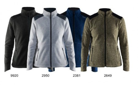 Craft Noble Zip Heavy Knit Fleece